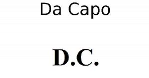 Da Capo