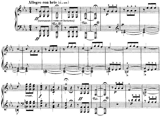 Beethoven, Symphony n°5 (Allegro con brio)