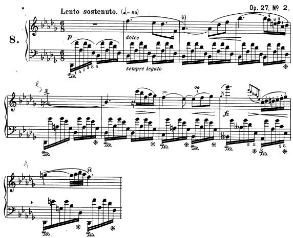 Chopin, Nocturne opus 27 n°2