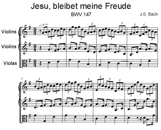 Jesus bleibet meine Freude, BWV 147 by J.S. Bach