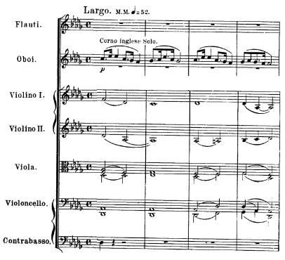 Dvořák, From the New World, Largo