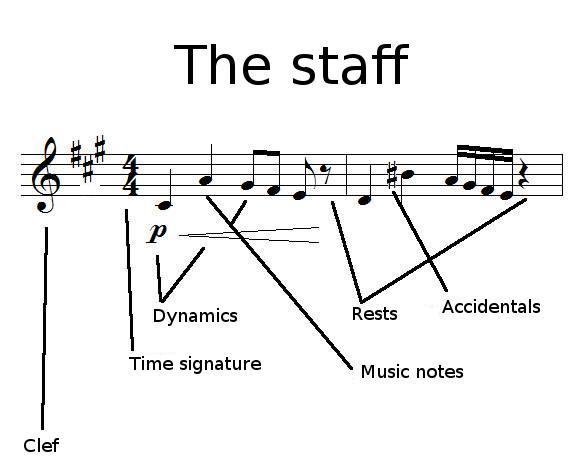 Elements on staff