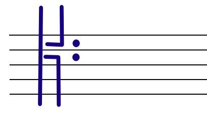 How to draw a c-clef