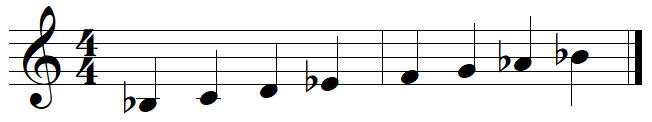 staff without key signature