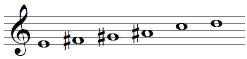 whole-tone scale